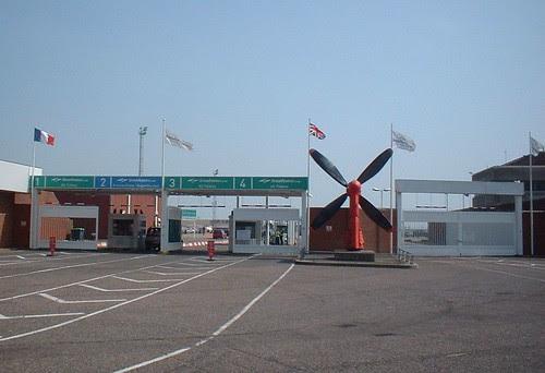 SpeedFerries new Dover check-in