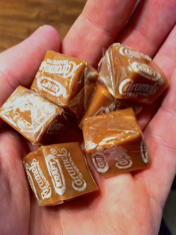 Kraft Wrapped Caramels