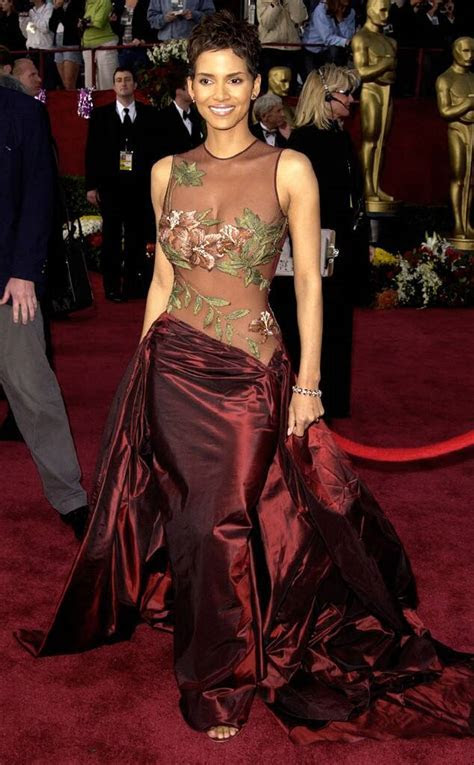 Oscar Win Gown from Halle Berry's Best Looks   E! News