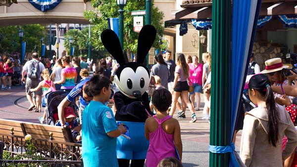 Disneyland Resort, Disneyland60, Disney California Adventure, Buena, Vista, Street, Oswald