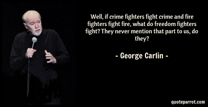 Well If Crime Fighters Fight Crime And Fire Fighters F By George