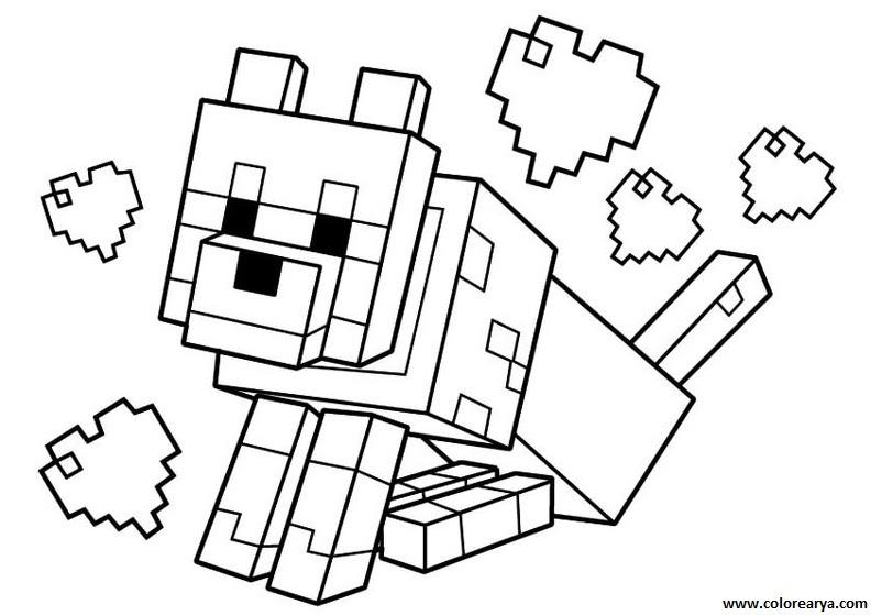 Imagenes De Minecraft Para Pintar Wwwimagenesmicom