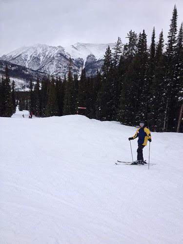 Tom skiing Copper Mountain