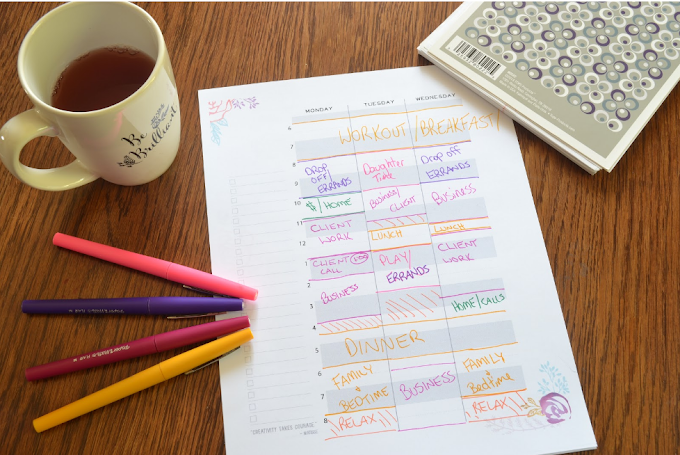 How To Schedule Your Day : Daily Scheduling