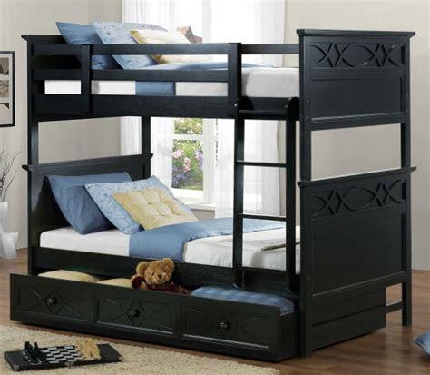 black kids beds metal twin  twin bunk bed  black