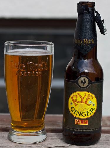 Big Rock Rye & Ginger Ale by Cody La Bière