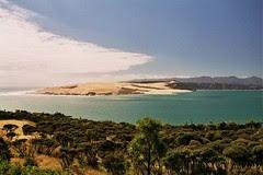 North Island NZ on the west coast