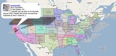 Google Super Tuesday Map Using Twitter