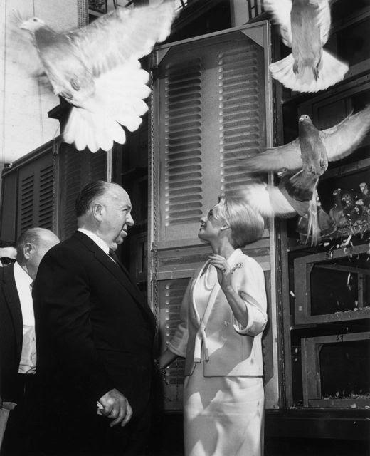 The Birds 1961 Photos sur des tournages de films  photo histoire featured cinema 2 art