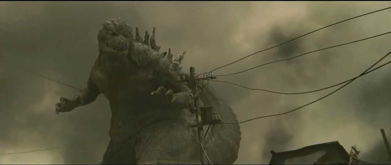 FULLY CG Japanese Godzilla, looking pretty good.