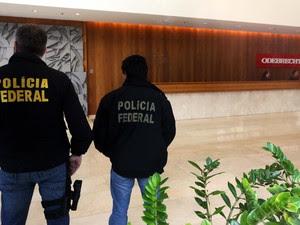 Mandados foram cumpridos na manhã desta sexta na sede da empresa Odebrecht (Foto: Marcos Bezerra/Futura Pressa/Estadão Conteúdo )