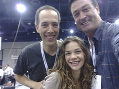 Natalie Gelman and Dan McVicar
