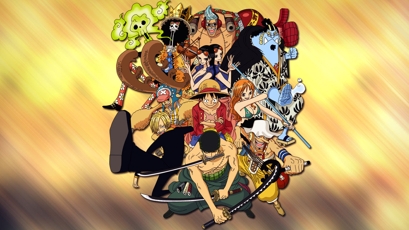 Best One Piece Wallpapers 1366x768