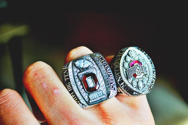 Ohio State Buckeyes Get Second National Championship Rings Big Ten