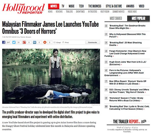 Malaysian Filmmaker James Lee Launches YouTube Omnibus '3 Doors of Horrors' - The Hollywood Reporter