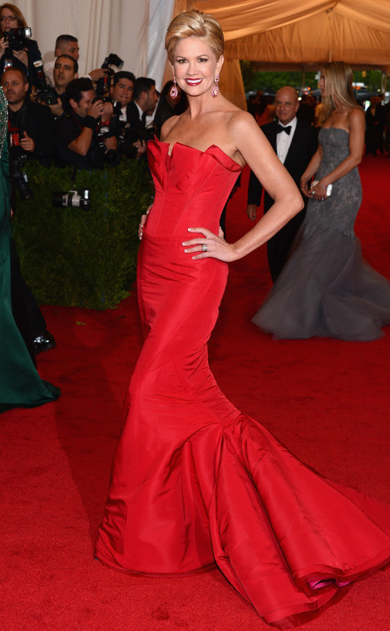 Gala MET 2012: Nancy O'Dell de Zac Posen