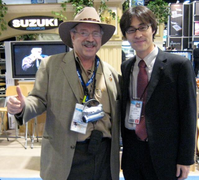 Jon Hammond and Waichiro 'Tachi' Tachikawa Suzuki NAMM Show
