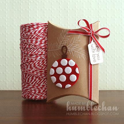 CHAN ornamentpillowbox