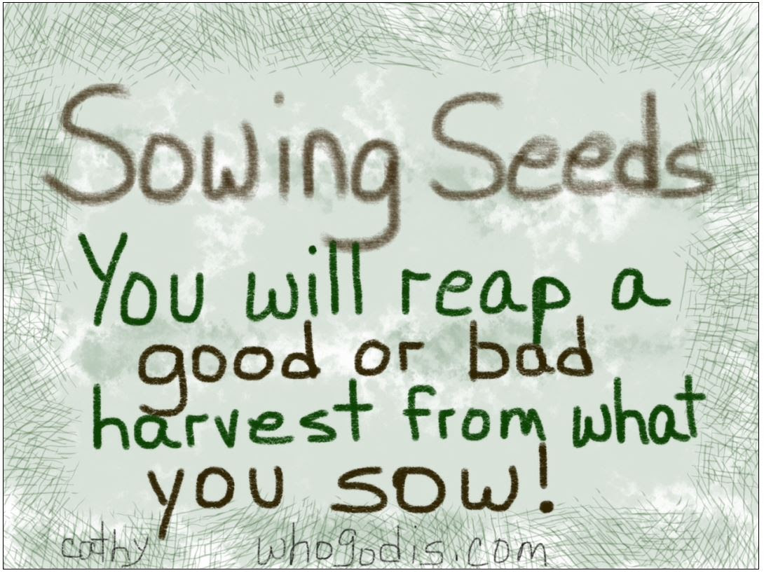 Quotes About Sowing And Reaping 38 Quotes