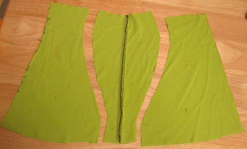 Muslin Cut Up for Pattern