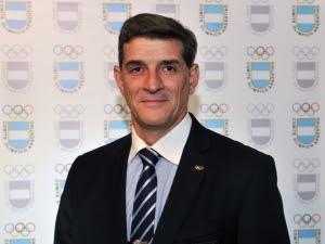 Diego Gusmán, Jefe de Misión en Toronto 2015.