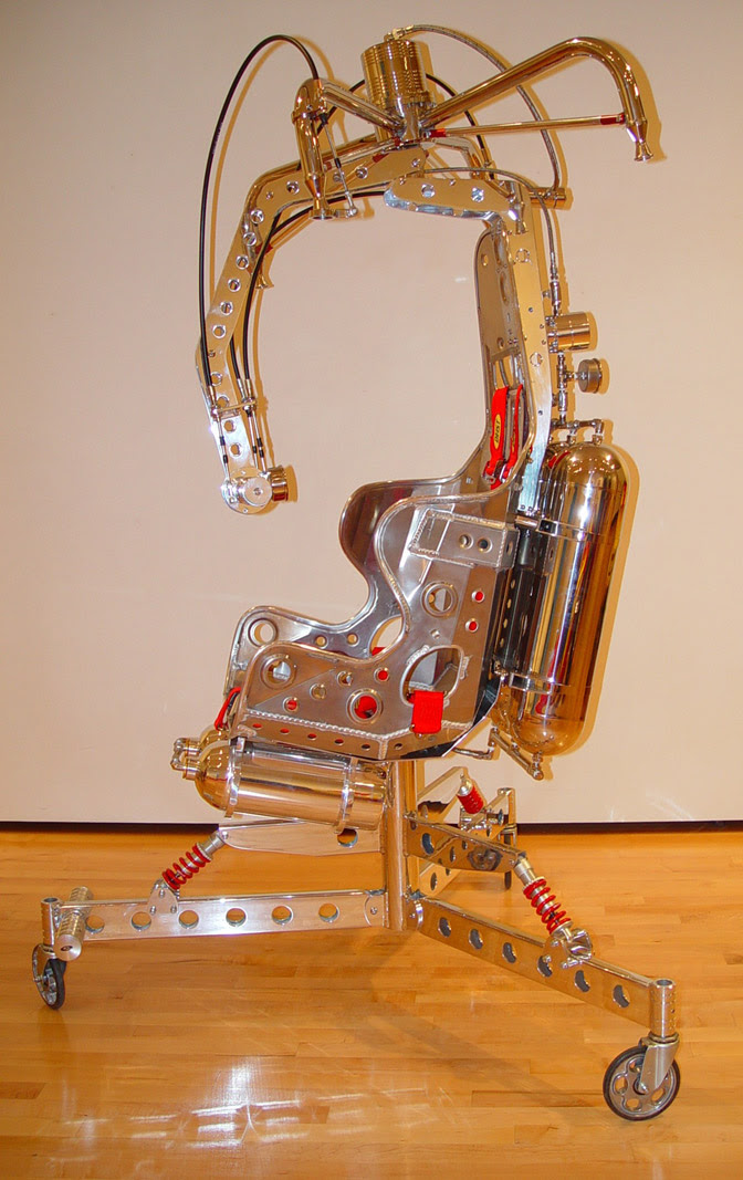 Cadeira voadora foguete