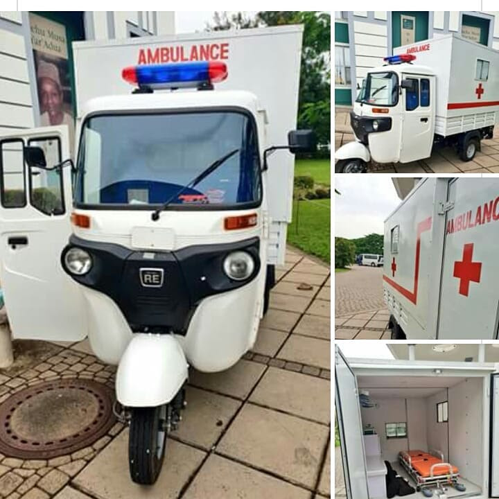 Keke Napep Converted To A Hospital Ambulance (Photos)