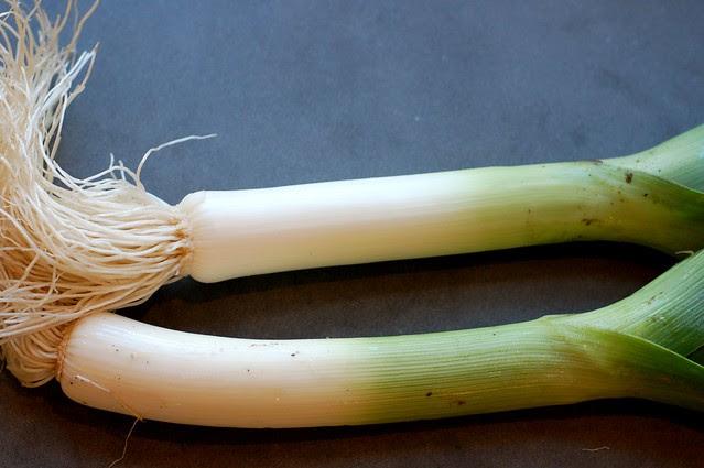 Leeks by Eve Fox, Garden of Eating blog, copyright 2011