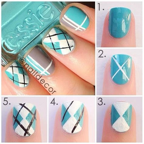 interesting step  step nail designs fashionsycom
