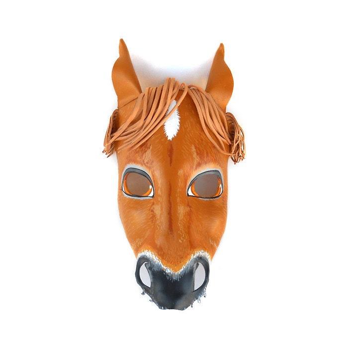 Horse head mask | Etsy