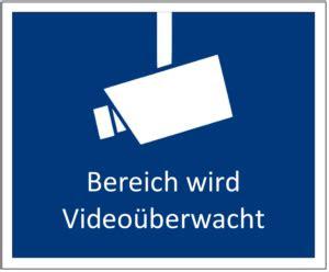 videoueberwachung hinweisschild gratis word muster