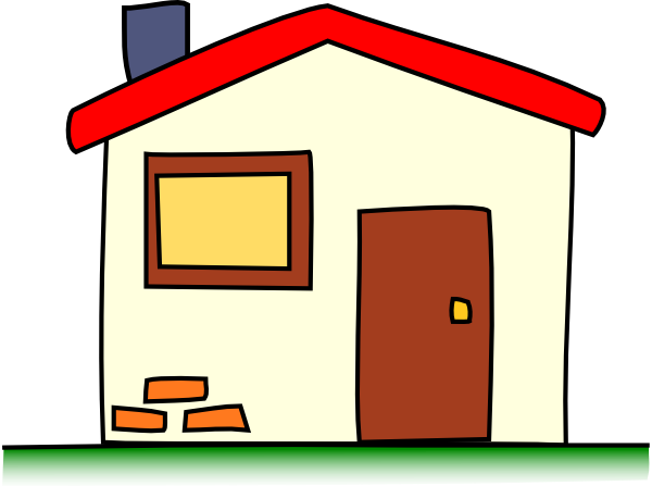 My House Clip Art at Clker.com  vector clip art online, royalty free  public domain