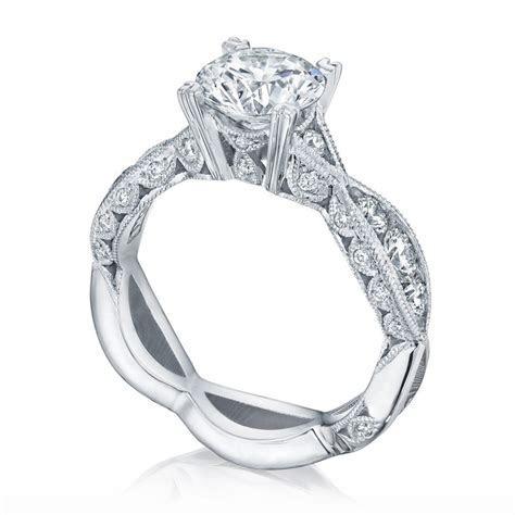 2644RD7512 Platinum Tacori Classic Crescent Engagement