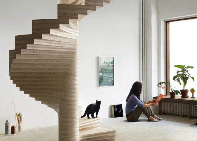 Escadas incrivelmente projetadas que estão um degrau acima das demais 03