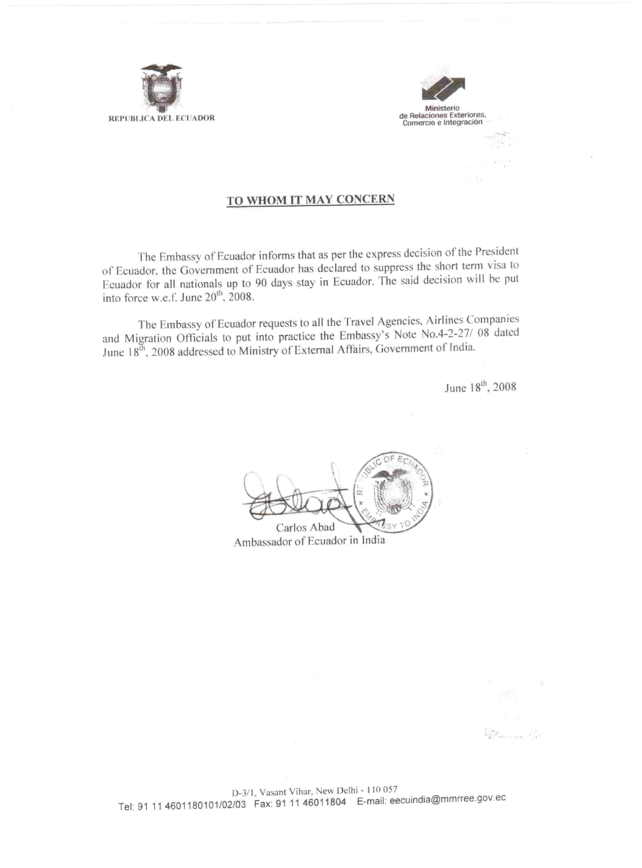 Contoh Invitation Letter Untuk Visa Indonesia Musica