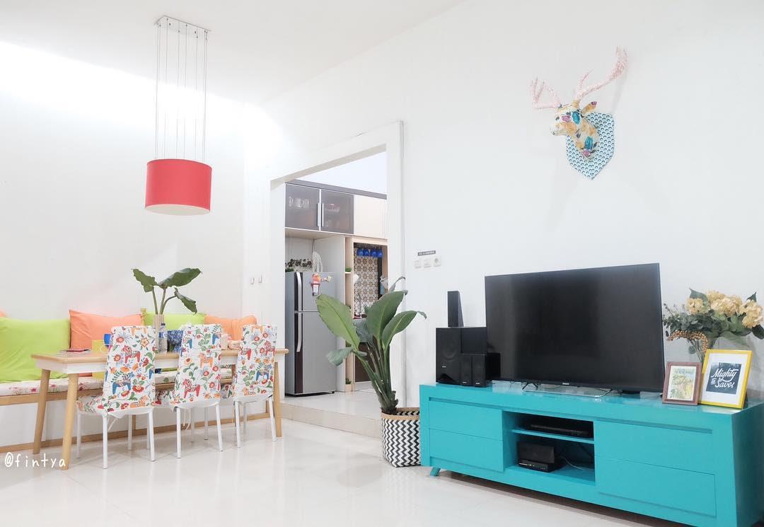 Desain Ruang Tamu Dan Ruang Keluarga Menyatu Kumpulan Desain Rumah