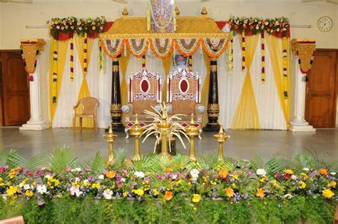 Ideas to Decorate a Stage for an Oriya Wedding