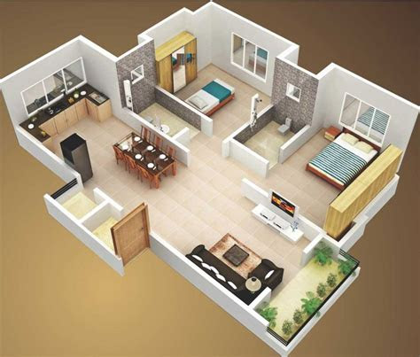 small house plans  sq ft  bedroom  terrace