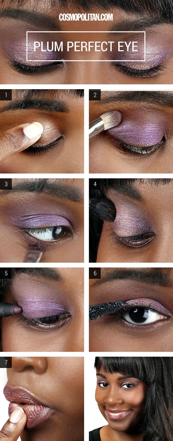PURPLE-Y PLUM SMOKEY EYE