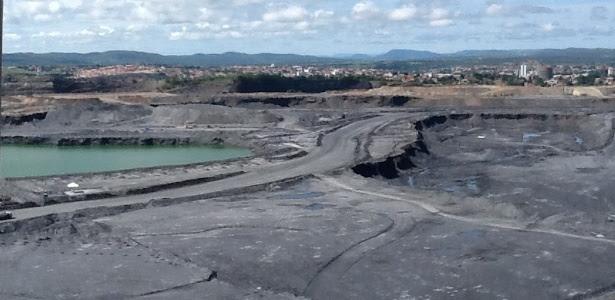 Terreno da mineradora Kinross, em Paracatu, no noroeste de MG