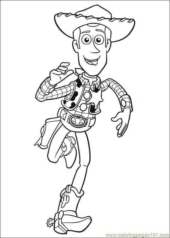 Toy Story 3 22 Coloring Page - Free Toy Story Coloring ...