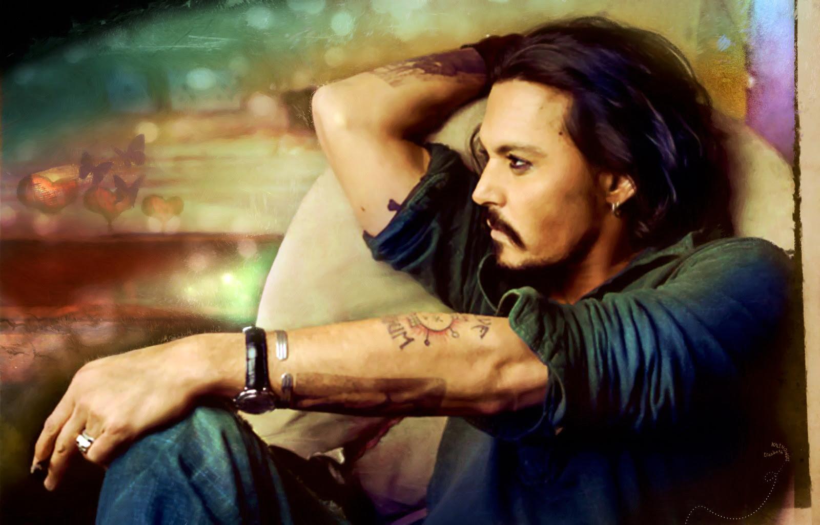ジョニー デップ 画像 壁紙 世界のイケメン ジョニー デップ
