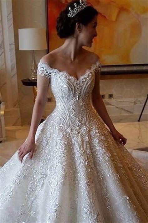 17 Best ideas about Crystal Wedding Dresses on Pinterest