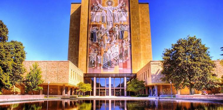 Wallpaper Notre Dame Touchdown Jesus