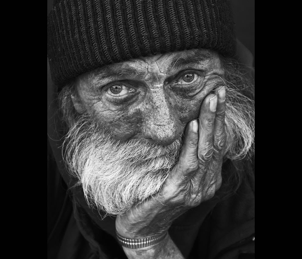 What hungry and homeless looks like up-close and personal
