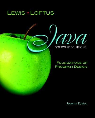 [PDF] Java Software Solutions: Foundations of Program Design (7th Edition) Free Download