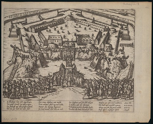Schleifung des Castells zu Antwerpen (c 1577) TWO