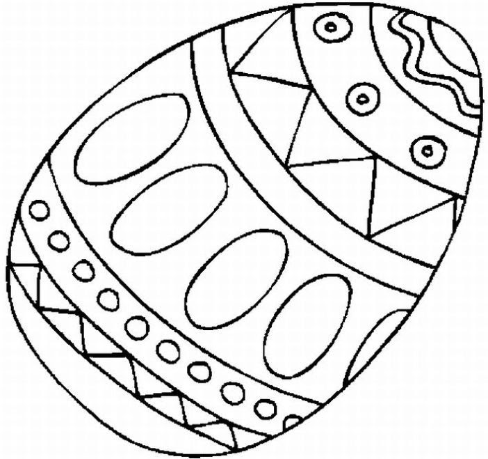 Easter Egg Coloring Pages For Toddlers - Coloring And Drawing