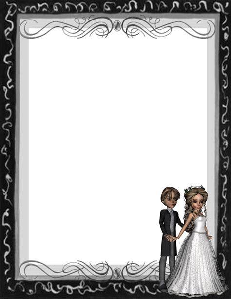 Bridal Shower Borders Free   Joy Studio Design Gallery