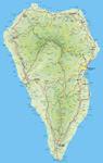La Palma trail map